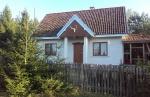 Dom letni nad jeziorem Kierwik