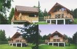 Dom z bala jezioro Dadaj