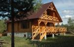 Nowy całoroczny Dom z Bala nad jeziorem