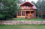 Mazury dom całoroczny las jezioro las