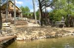 Wiejska Chata nad samym jeziorem z basenem wewnątrz
