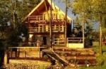 Rybacka Osada-całoroczny dom z basenem wewnątrz nad samym jeziorem