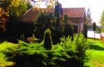 Dom Sielanka nad jeziorem koło Ełku.