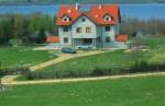 Pokoje gościnne nad jeziorem Ławki okolica Jeziorany powiat Olsztyn