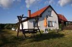 JURANDÓWKA - całoroczny dom nad samym jeziorem i Krutynią w Spychowie