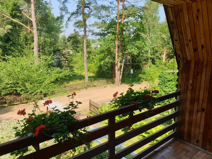 Balkon w pokoju 2-osobowym