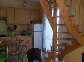 Kuchnia i schody