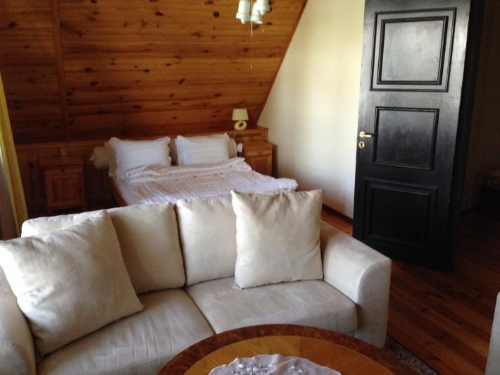 Sypialnia 1 - z tarasem i widokiem na jezioro