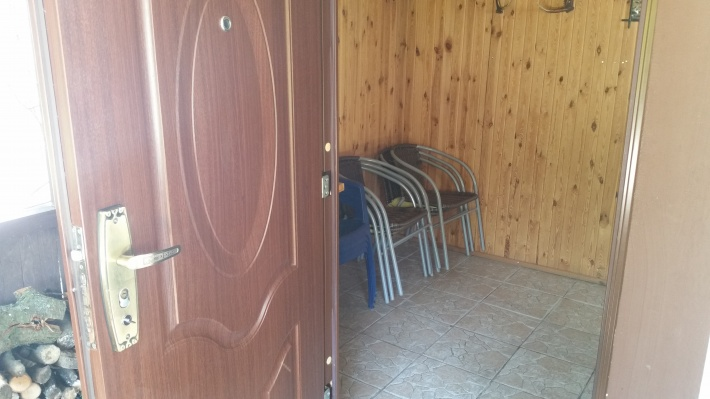 Wejście korytarz domek nr2