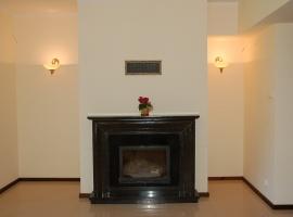 kominek grzewczy z rozprowadzeniem ciepła do wszystkich pokoi