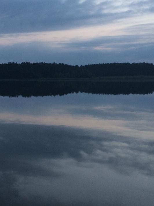 Jezioro Spychowskie 400 metrów od posesji.