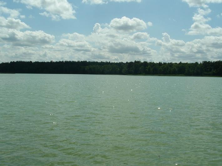 piękne jezioro Mielno