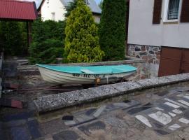 Łódka wiosłowa