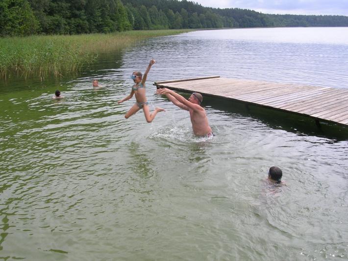 jedno z najczystszych jezior na Warmii i Mazurach